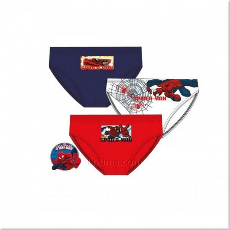 Pack de tres slips Spiderman DISNEY