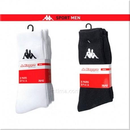 Pack de tres calcetines rizo KAPPA
