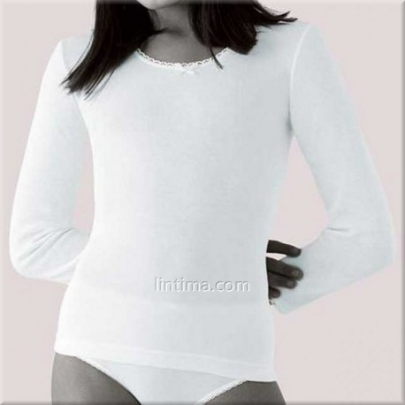 Camiseta niña manga larga PRINCESA