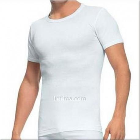 Camiseta de manga corta cuello redondo ABANDERADO