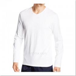 Cool t-shirt en coton à manches longues porte-étendard