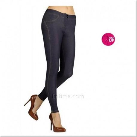 Legging pitillo push-up jeans YSABEL MORA