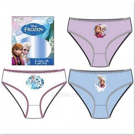 Lot de trois culottes de Frozen de DISNEY