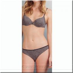 Braga Bikini à motifs AVET