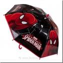 Parapluie noir de Spiderman DISNEY