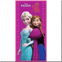 Serviette de Princesse Congelés et Elsa DISNEY