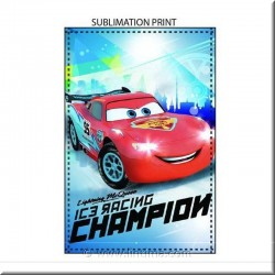 Couverture Polaire Cars DISNEY