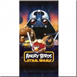 Toalla Star Wars y Angry Birds DISNEY