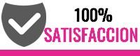 100% SATISFACCIÓN EN TUS COMPRAS