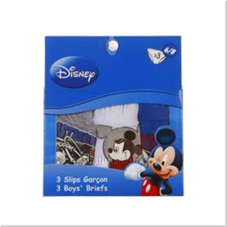 Pack de tres slips Mickey Mouse DISNEY