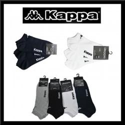 Lot de trois chaussettes invisibles KAPPA