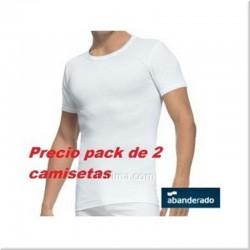Pack de dos camisetas manga corta ABANDERADO