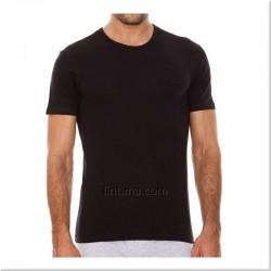 Camiseta cool cotton manga corta cuello redondo ABANDERADO