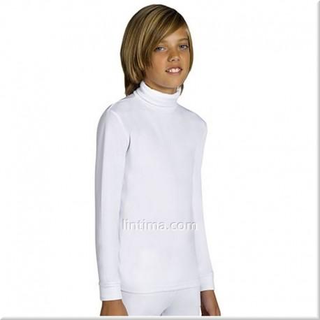 Camiseta infantil termal cuello cisne YSABEL MORA