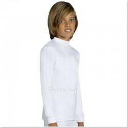 Camiseta infantil termal cuello semicisne YSABEL MORA
