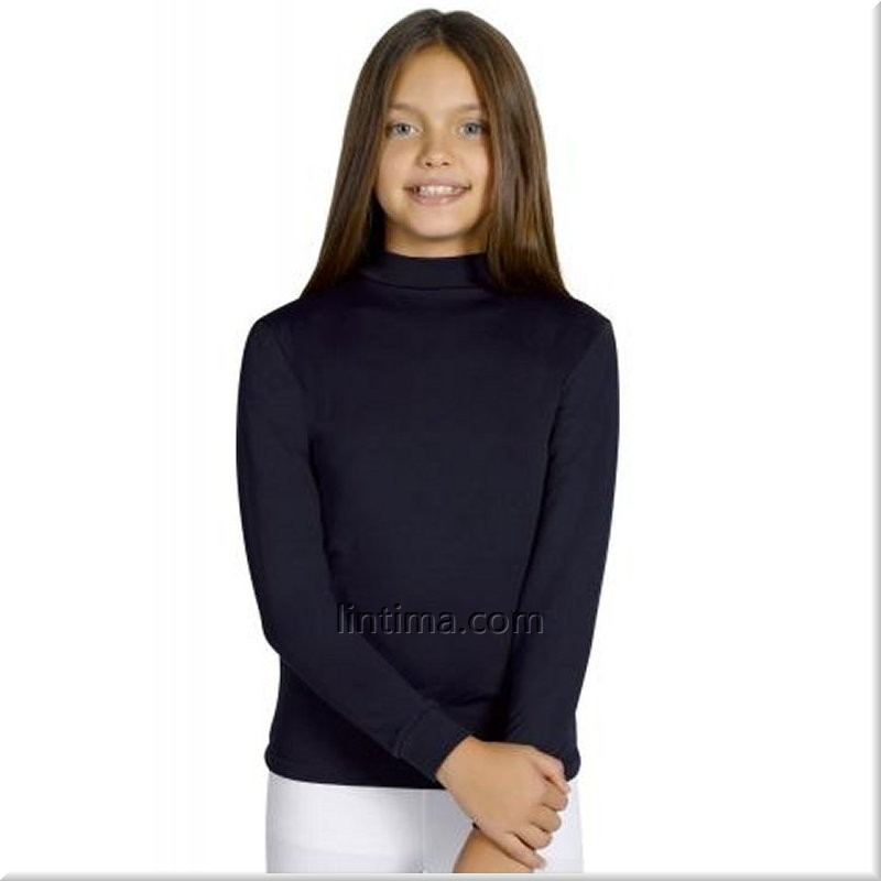 cfccb0517 Camiseta infantil termal cuello semicisne YSABEL MORA