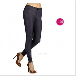 Legging pitillo push-up jeans YSABEL MORA