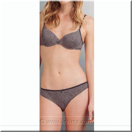 Braga Bikini estampada AVET