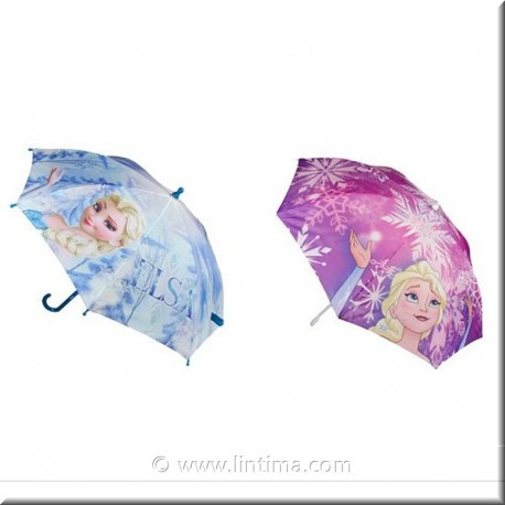 Paraguas de la princesa Frozen