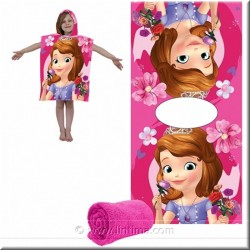 Poncho toalla Princesa Sofia DISNEY