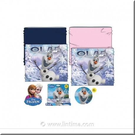 Braga polar para cuello princesa Frozen DISNEY