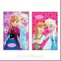Couverture polaire princesse Frozen de DISNEY