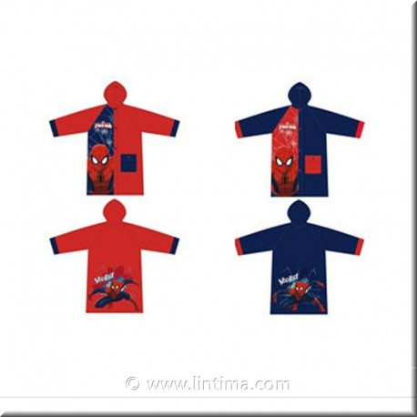 Chubasquero Impermeable Spiderman DISNEY