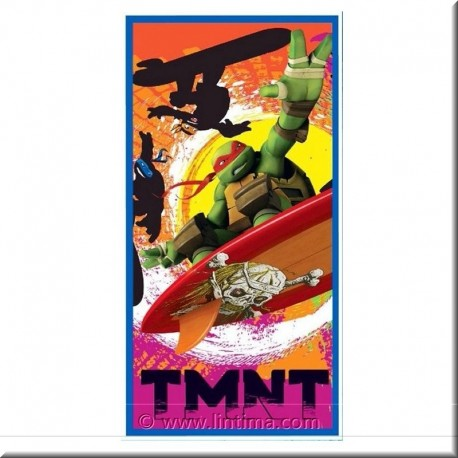 Serviette Tortues Ninja DISNEY